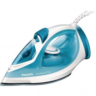 Fier de calcat Philips GC 2040, 2100 W, talpa antiaderenta, alb/albastru