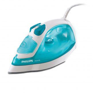 Fier de calcat Philips GC2910/20, 2100 W, talpa SteamGlide, alb/albastru