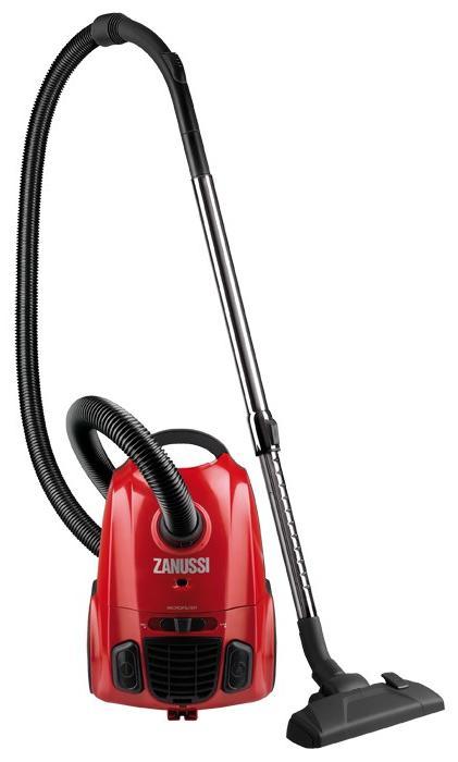 Aspirator cu sac Zanussi ZAN2410EL, 1600 W, 2 l, tub telescopic cromat