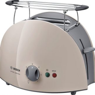 Prajitor de paine Bosch TAT61088, 900 W, capacitate 2 felii