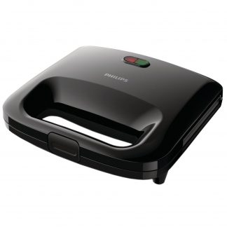 Sandwich-Maker Philips Daily Collection HD2395/90, 820 W, Negru