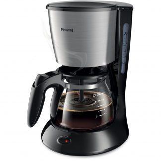 Cafetiera Philips HD7435/20, 1 l, AromaSwirl, Sistem Anti-picurare, Negru