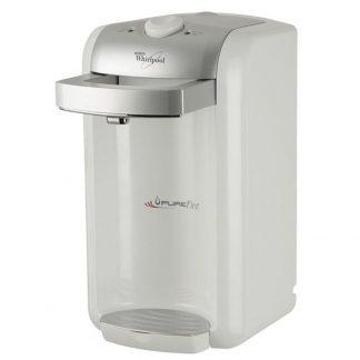 Purificator de apa Whirlpool Pure First PUF 100, 3 etape de filtrare, debitmetru, alb