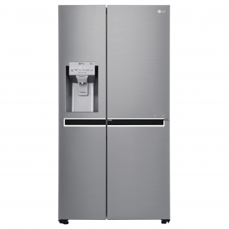 Side by side LG Door in Door GSJ961NEBZ No Frost, 600 L, Clasa A++, H 1790 cm, Inox