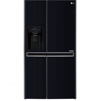 Side by Side LG Door in Door GSJ760WBXV No Frost,600 L, Clasa A+, H 179 cm, Negru