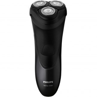 Aparat de ras Philips S1110/04, CloseCut, Pop-up trimmer, LED, Negru