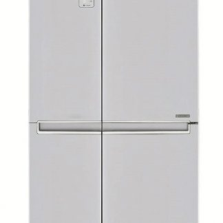 Side by Side LG GSB760SWXV, Total No Frost, 626 L, Clasa A+, H 179 cm, Alb