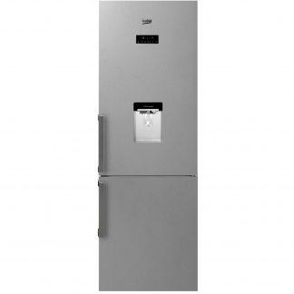Combina frigorifica Beko RCNA400E21DZXP, 344 l, Clasa A+, NeoFrost, H 201 cm, Inox Antiamprenta