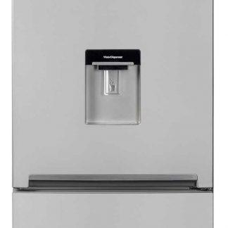 Combina frigorifica Beko RCSA400K20DS, 377 l, Clasa A+, BlueLight, H 201 cm, Silver