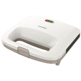 Sandwich-Maker Philips Daily Collection HD2395/00, 820 W, Alb