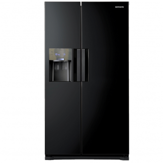 Side by side Samsung RS7768FHCBC, No Frost, 545 l, H 178.9, Clasa A++, Negru