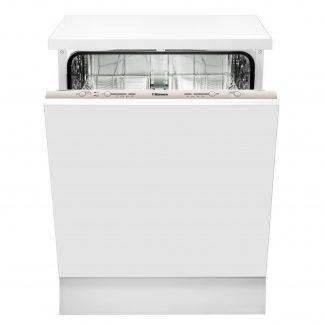 Masina de spalat vase Hansa ZIM634B, 12 seturi, 4 programe, incarcare la jumatate, programare intarziata, AquaStop, alb