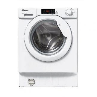 Masina de spalat rufe incorporabila Candy CBWM 712D-S, 7 kg, 1200 rpm, A+++, Display, Alb