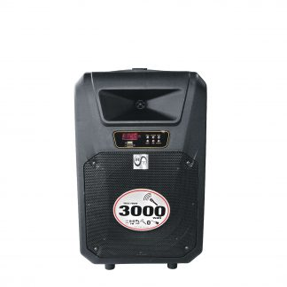 Boxa RAC 101-12, Difuzor 12+1, RMS 30 wati, Cu afisaj, USB, SD, LED, Intrare Aux