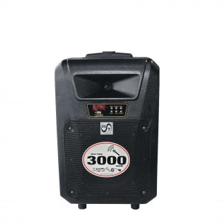 Boxa RAC 101-10, Difuzor 10+1, RMS 30 wati, Cu afisaj, USB, SD, LED, Intrare Aux