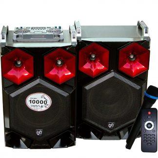 Sistem boxe RAC 212-7 BT, Bluetooth, 2 x 50W