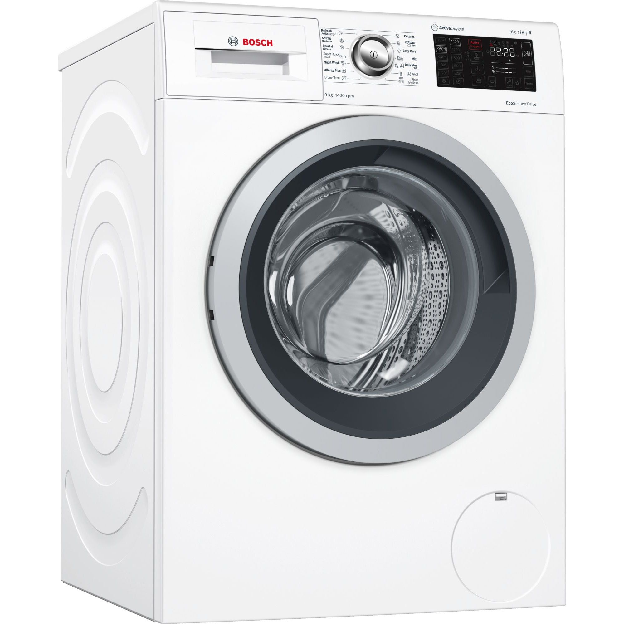 Masina de spalat rufe Bosch WAT28761BY, ActiveOxygen, 9 kg, 1400 RPM, Clasa A+++, 60 cm, Alb