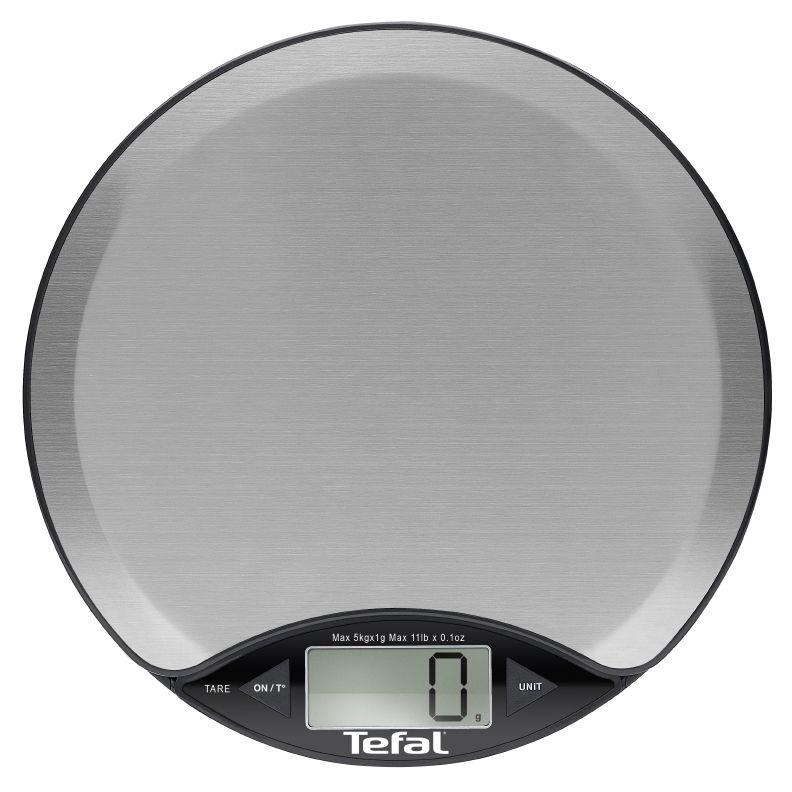 Cantar de bucatarie Tefal BC1500V0 Platine, 5 kg, Termometru, Inox