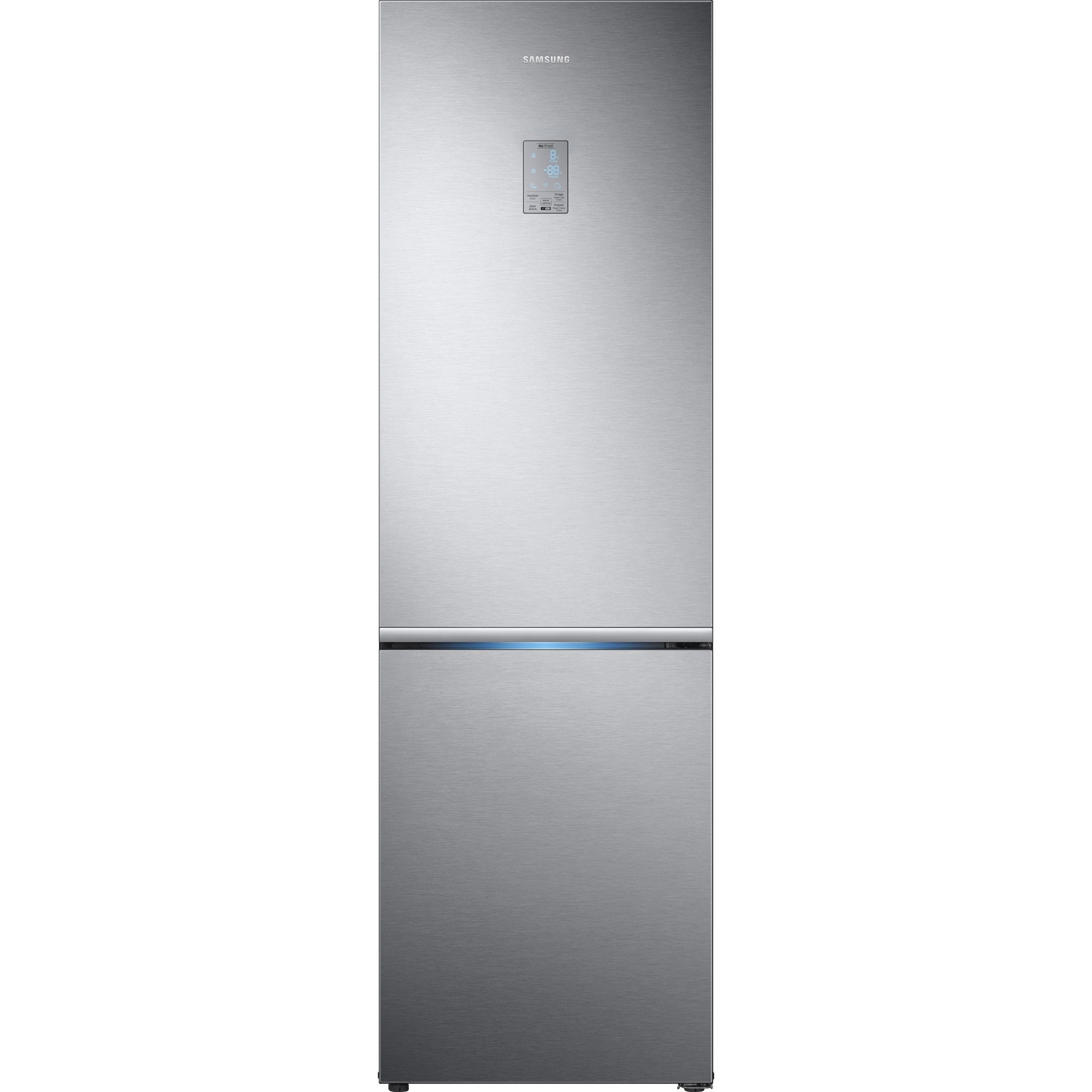 Combina frigorifica Samsung RB34K6000SS/EF, 344l, Clasa A+, Full No Frost, Power Cool, Power Freeze, Inox