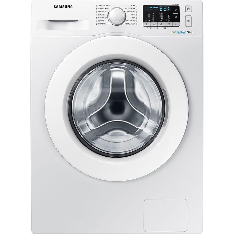 Masina de spalat rufe Samsung Eco Bubble WW70J5345MW/LE, 7 kg, 1200 rpm, Clasa A+++, Alb