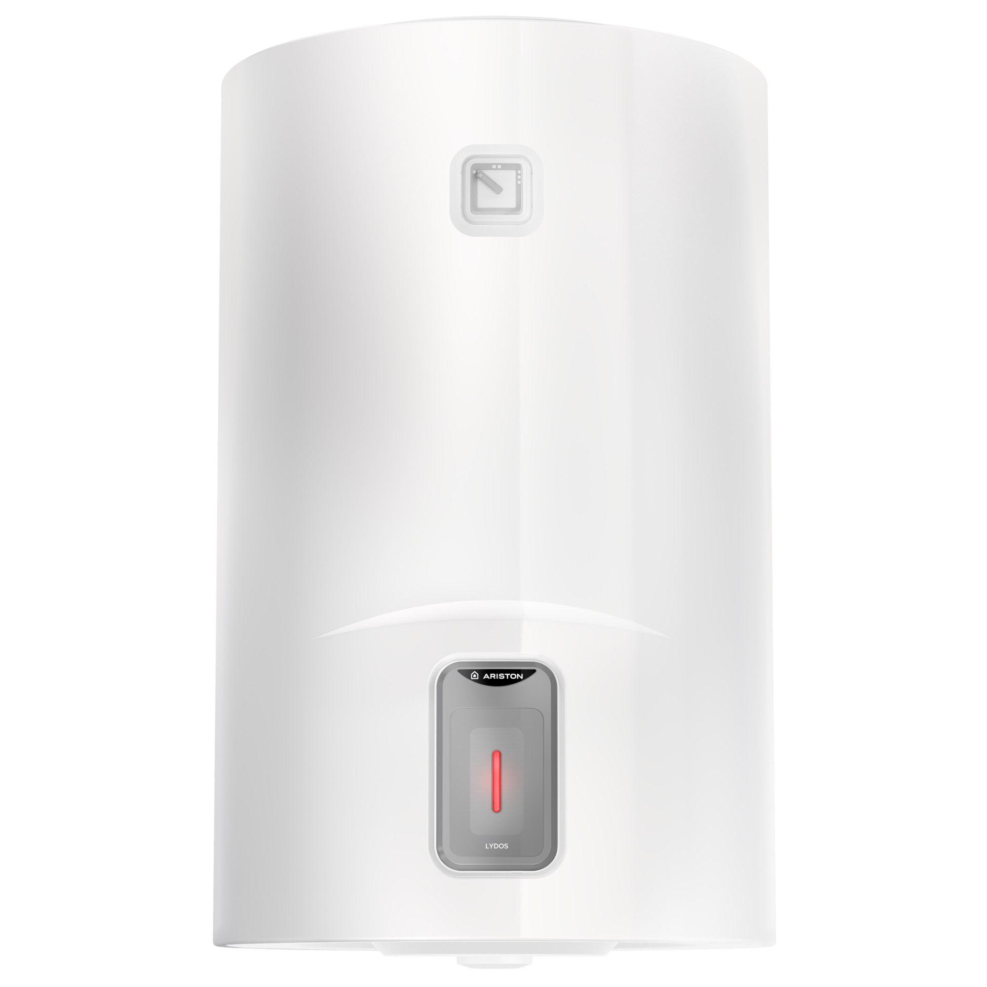 Boiler electric Ariston Lydos R 50L, 1800W, rezervor emailat cu Titan