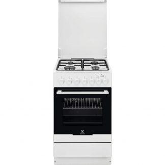 Aragaz mixt Electrolux EKK52950OW, PlusSteam, Grill, 4 arzatoare
