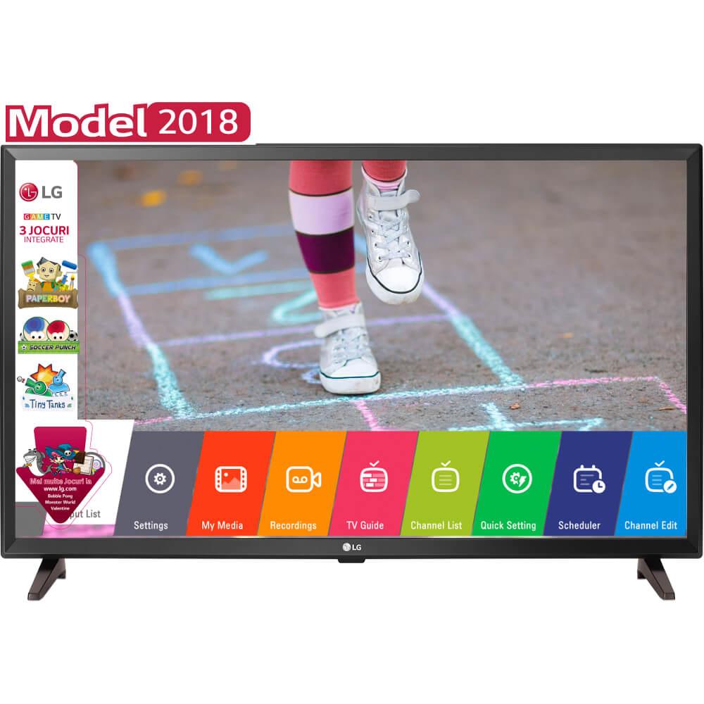 Televizor LED Game TV LG, 80 cm, 32LK510BPLD, HD