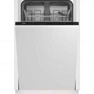 Masina de spalat vase incorporabila Beko DIS15012, 10 seturi, A+, Alb