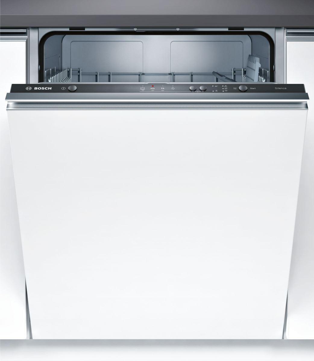 Masina de spalat vase incorporabila Bosch SMV24AX01E Serie 2, 60 cm, 12 seturi, clasa A+, 4 programe, EcoSilence Drive