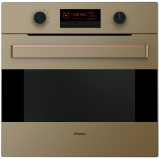 Cuptor incorporabil Hansa UNIQ BOEB695010, 10 functii, 65 L, grill 2000 W, I-Cool Front, Bej