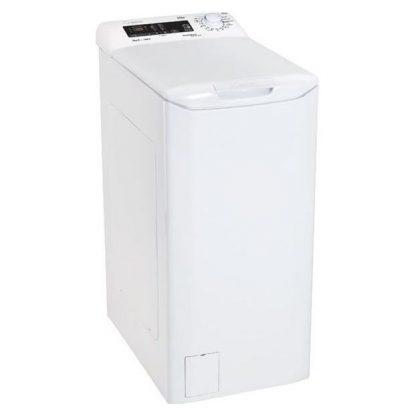 Masina de spalat rufe verticala Candy CVST G384DM-S, 8kg, 1400rpm, Smart Touch, NFC, A +++, Alb