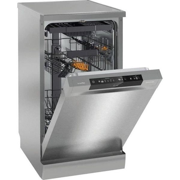 Masina de spalat vase GORENJE GS54110X, 10 seturi, 5 programe, 45cm, A++, Argintiu