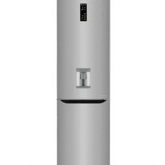 Combina frigorifica LG GBF60PZFZS, 339 l, 201 cm, A++, argintiu