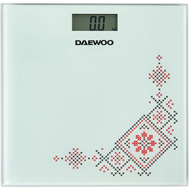 Cantar de baie Daewoo DBS210TR electronic cu capacitate de 150 kg