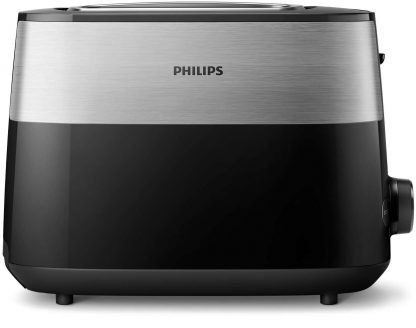 Prajitor de paine PHILIPS HD2515/90 Daily Collection, 2 felii, 830W, negru
