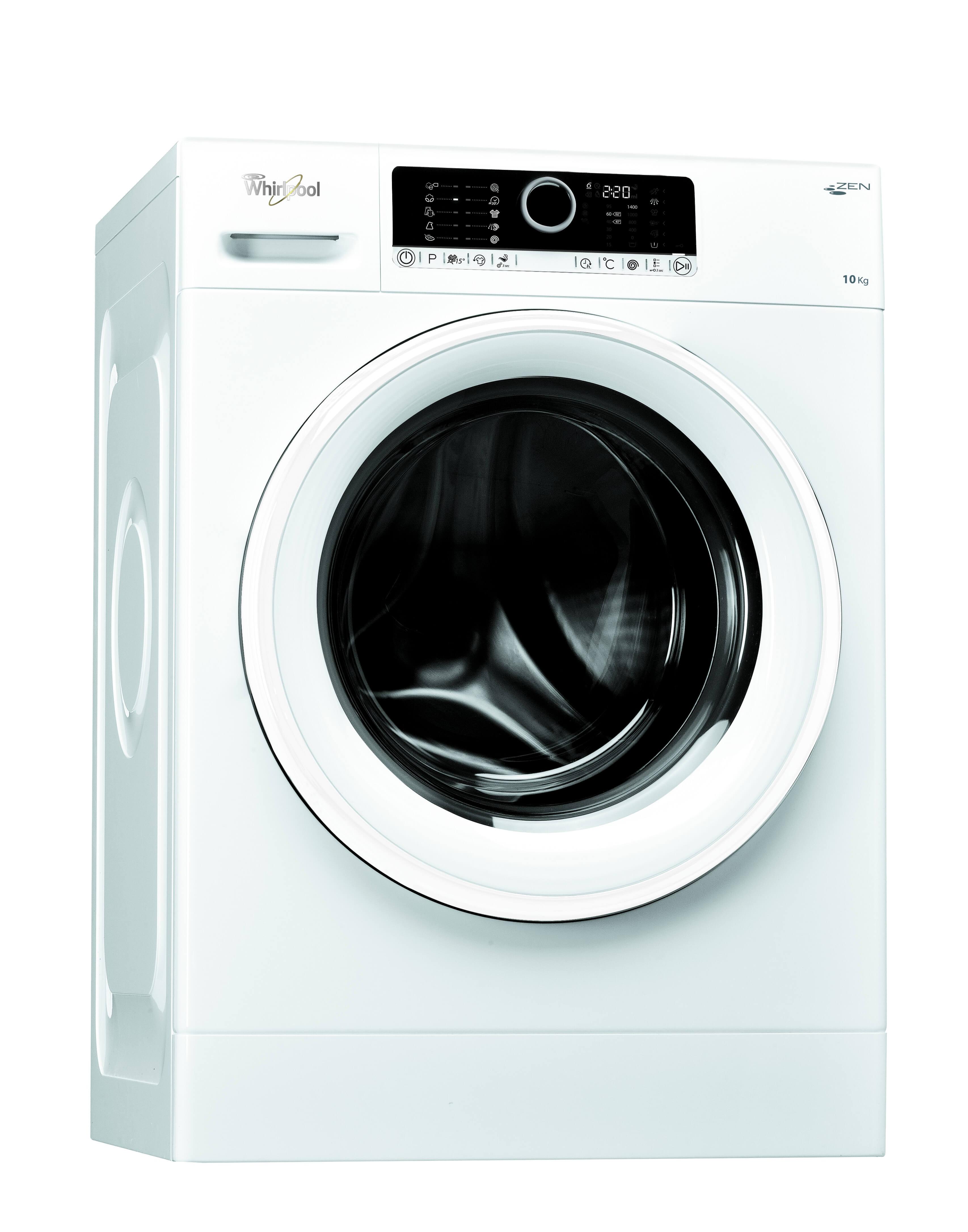 Masina de spalat rufe Whirlpool FSCR 10415, Alb
