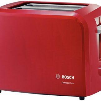 Prajitor de paine Bosch TAT3A014, 980 W, 2 felii, suport chifle