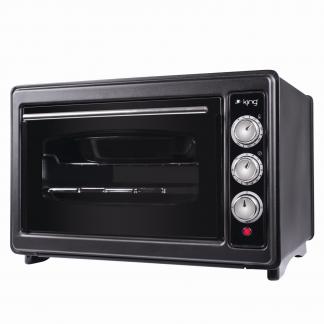 Mini Cuptor King K 36 BlackMaster, 34 l, grill, timer, termostat