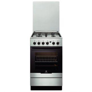 Aragaz Electrolux EKG51154OX, gaz, 4 arzatoare, grill, siguranta, inox