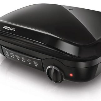 Gratar electric Philips HD 6305, 2000 W, negru