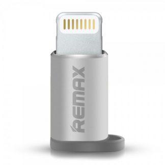 Adaptor Remax Microusb La Lightning Pentru dispozitive cu ios Silver