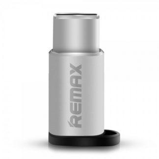 Adaptor Remax Microusb La Type C Silver