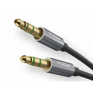 Cablu Premium Audio Aux Rock Lungime 1m Negru