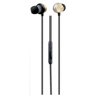Casti In Ear Handsfree Oneplus Gold 1,2m Cu Volum Pe Fir Si Microfon