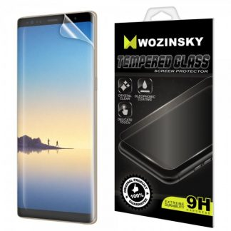Folie Fata Silicon Wozinsky Ultra Samsung Note 9 Transparenta ,silicon