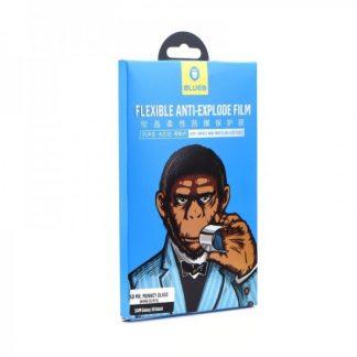 Folie Nano Full Glue Premium Mr. Monkey Full Cover Pentru Samsung S8+ Plus Negru -transparent
