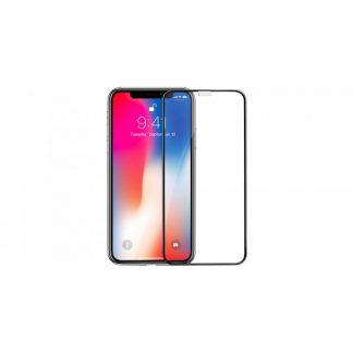 Folie Premium Sticla Securizata Hoco A1 iPhone X /iPhone XS Negru Transparenta