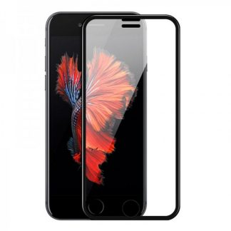 Folie Premium Sticla Securizata Hoco A11 iPhone 7 ,iPhone 8 Negru Transparenta