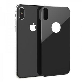 Folie Sticla 3d iPhone X , iPhone 10 Pentru Spate Neagra