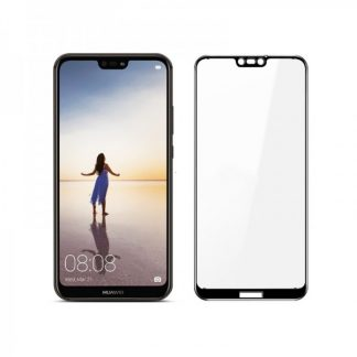 Set Folie Sticla Full Cover 3d Mixon Huawei P20 Lite Negru si Folie Camera Best Suit Nano Glass